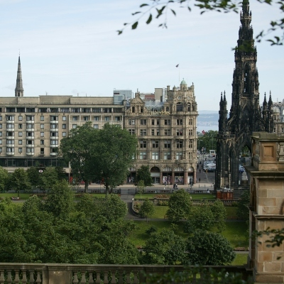 Mercure Edinburgh Princes Street Hotel-0